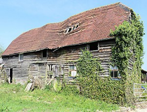 Romantic Ruin Barn