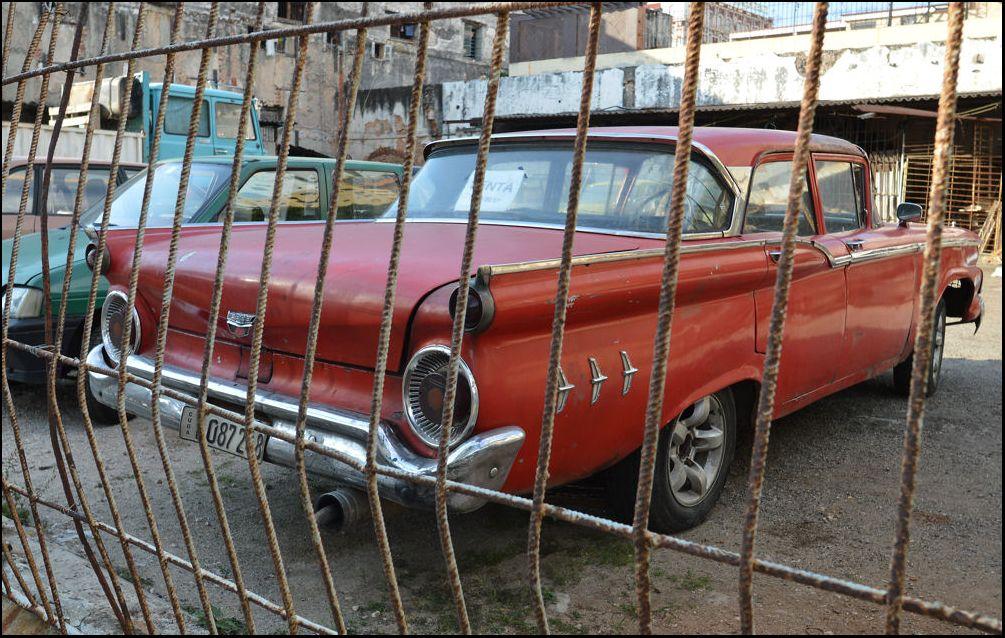 Abandoned and DerelictVehicle Scrapyard Havana La Habana Cuba