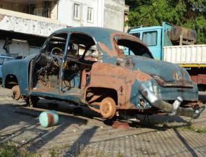 Vehicle Scrapyard Havana La Habana Cuba