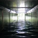 Lewes Image Scene Winterbourne Stream Tunnel