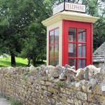 Telephone Box Tyneham Ghost Village